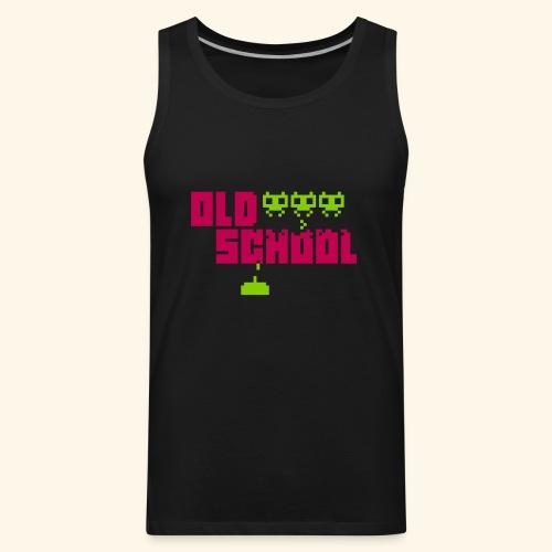 Old School - Men's Premium Tank