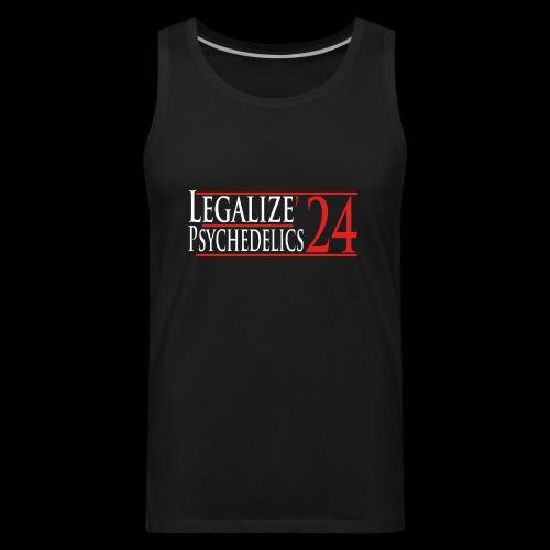 Legalize Psychedelics - Men's Premium Tank