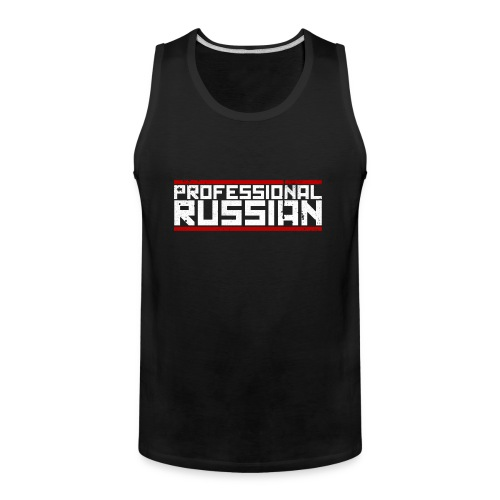 FPS Russia Logo MP Long Sleeve Shirts - Men's Premium Tank