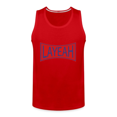 White LaYeah Shirts - Men's Premium Tank