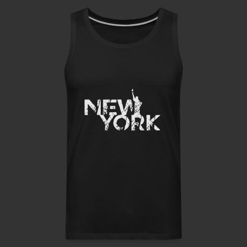New York (Flexi Print) - Men's Premium Tank
