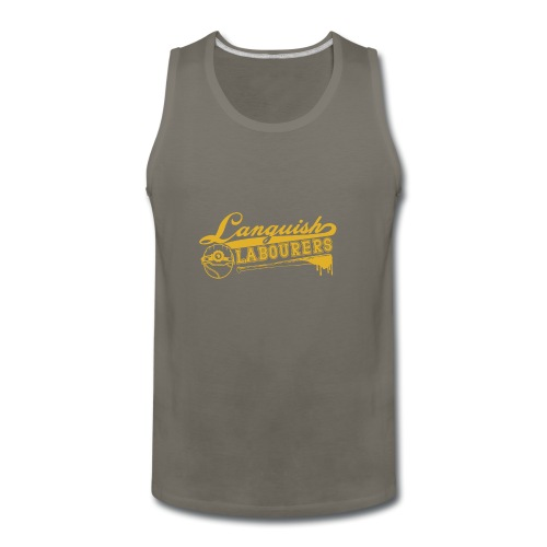 Languish Labourer's Baseball - Men's Premium Tank