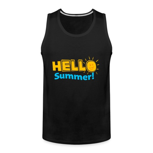 Kreative In Kinder Hello Summer! - Men's Premium Tank