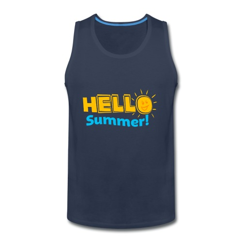 Kreative In Kinder Hello Summer! - Men's Premium Tank