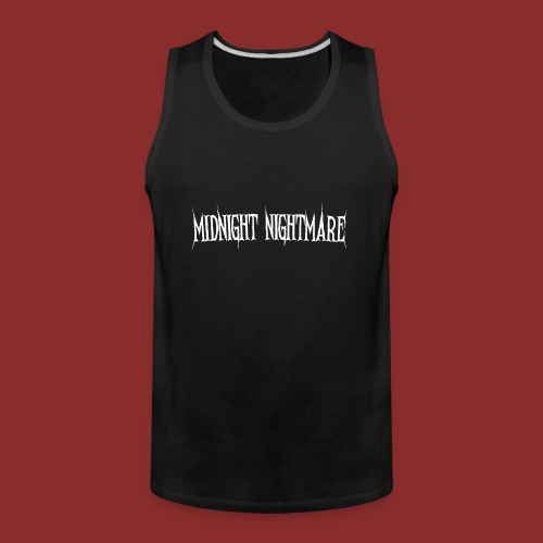 Midnight Nightmare Logo-w - Men's Premium Tank