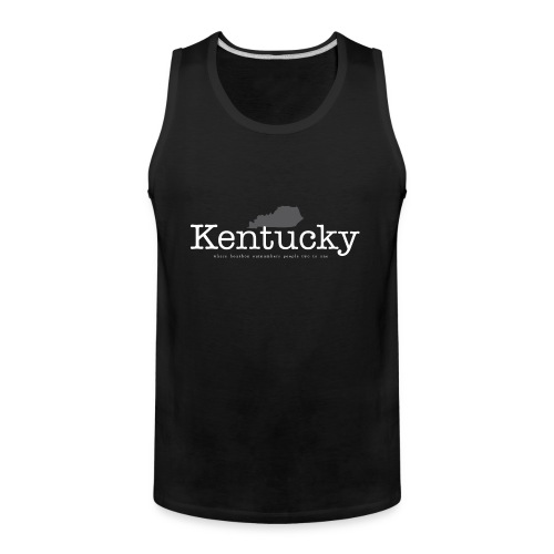 KY - Where Bourbon Outnumbers People Two to One - Men's Premium Tank