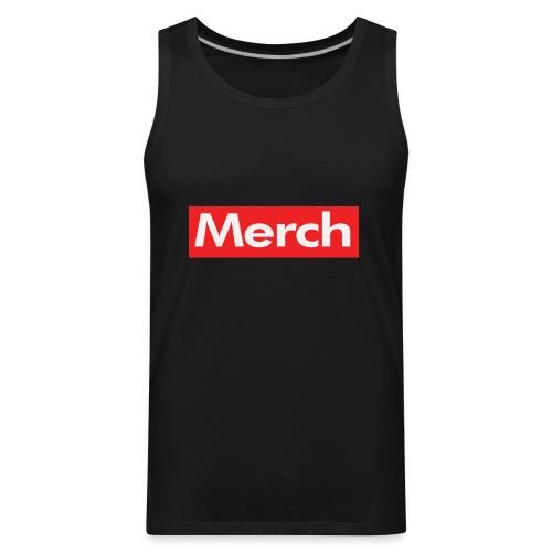 Merch Supreme Parody - Men's Premium Tank