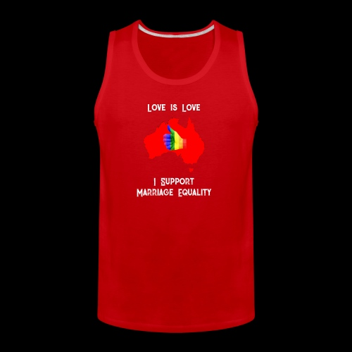 Love Is Love 3 - Men's Premium Tank