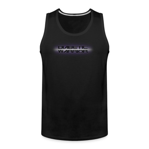 Diabetic Warrior In Space - Men's Premium Tank