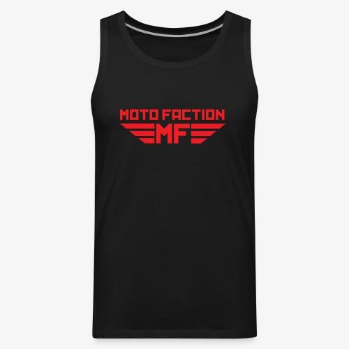 MotoFaction Logo - Men's Premium Tank