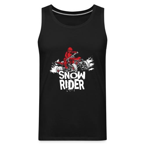 ATV Quad Snow Rider - Men's Premium Tank