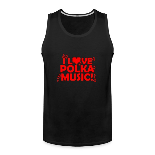 polka music - Men's Premium Tank