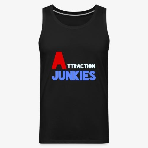 Attraction Junkies Merch - Men's Premium Tank