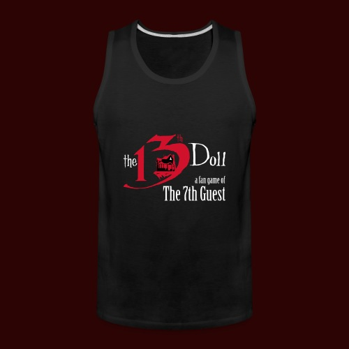 The 13th Doll Logo - Men's Premium Tank