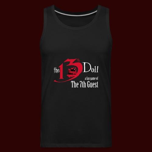 The 13th Doll Logo - Men's Premium Tank