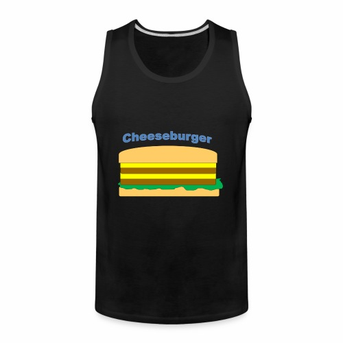 cheeseburger - Men's Premium Tank