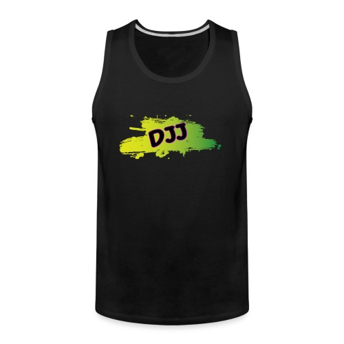 DJJ Green splash - Men's Premium Tank