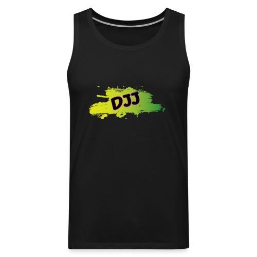 DJJ Green splash - Men's Premium Tank