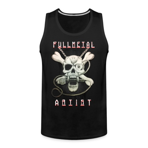 Heavy Metal FMA Skull - Men's Premium Tank