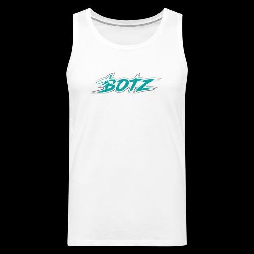 BOTZ Teal Logo - Men's Premium Tank
