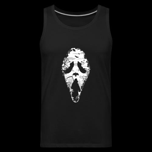 Reaper Screams | Scary Halloween - Men's Premium Tank