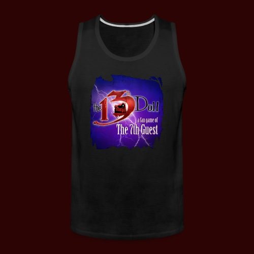 The 13th Doll Logo With Lightning - Men's Premium Tank