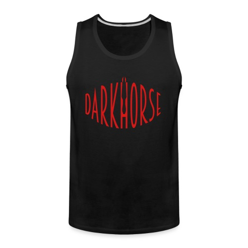 DarkHorse Warp Logo Range - Men's Premium Tank