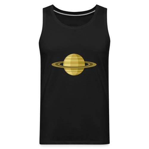 Planet Saturn - Men's Premium Tank