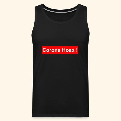 Korona corona hoax - Men's Premium Tank