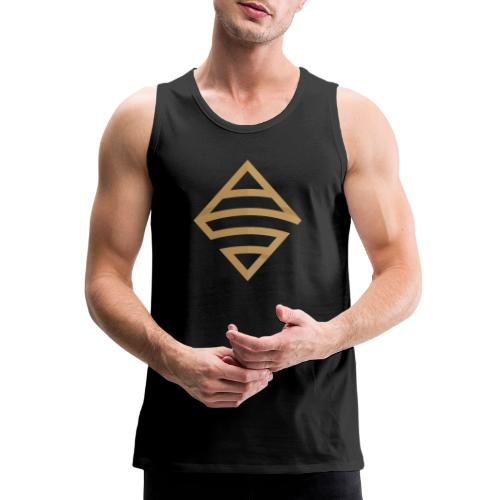 Anthony B Smoak Gold Logo - Men's Premium Tank