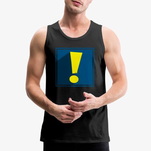 Whee Shadow Exclamation Point - Men's Premium Tank