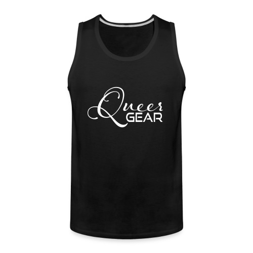 Queer Gear T-Shirt 03 - Men's Premium Tank