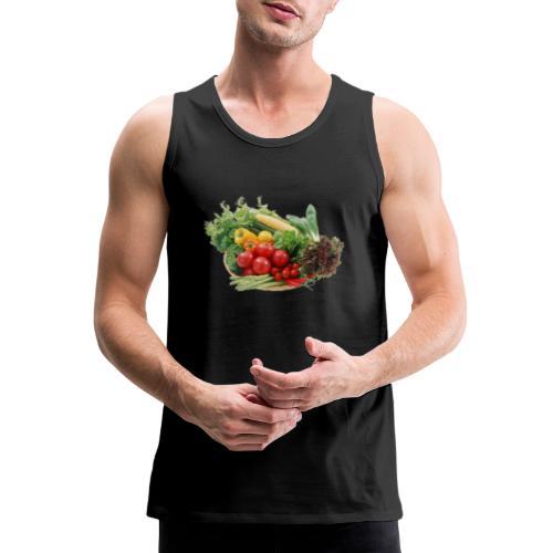 vegetable fruits - Men's Premium Tank