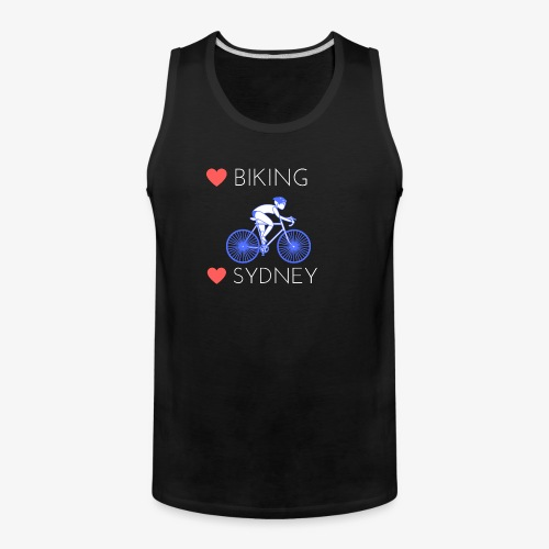 Love Biking Love Sydney tee shirts - Men's Premium Tank