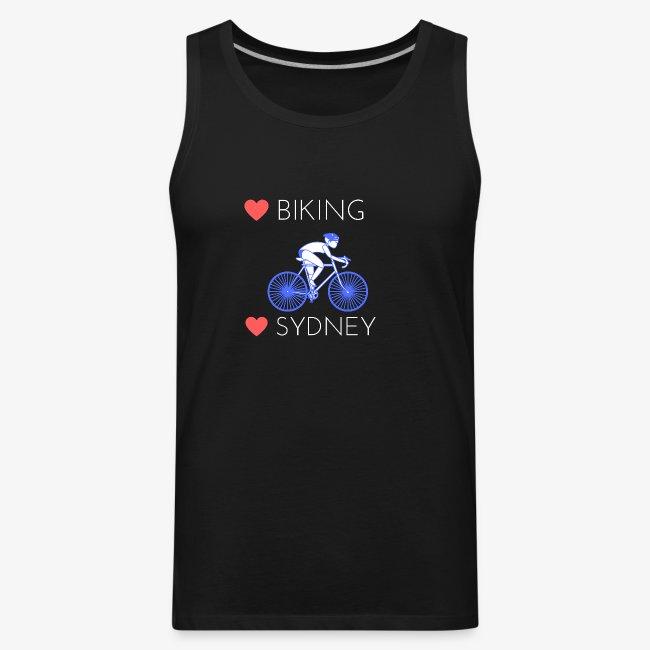 Love Biking Love Sydney tee shirts