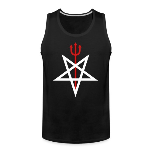 Pitchfork Pentagram - Men's Premium Tank