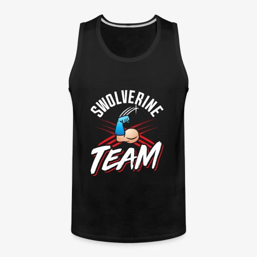 Swolverine Team - Men's Premium Tank