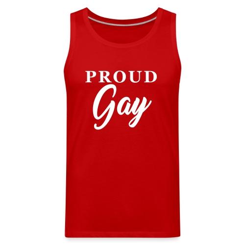 Proud Gay T-Shirt - Men's Premium Tank