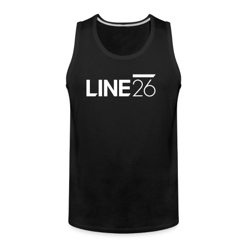 Line26 Logo (Light Version) - Men's Premium Tank