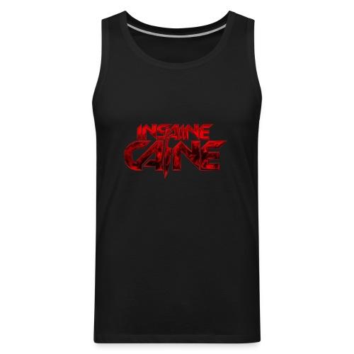 Insaine Caine - The Logo - Drop 2 - Men's Premium Tank