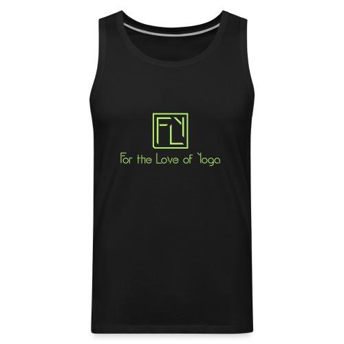 For the Love of Yoga - Men's Premium Tank