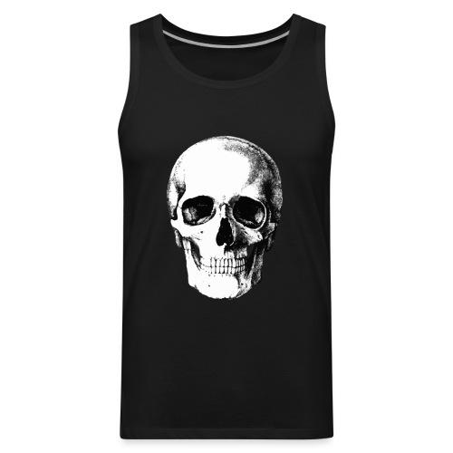 Human Skull - Men's Premium Tank