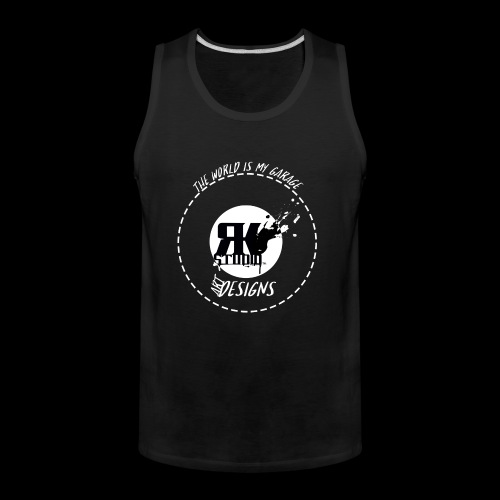 The World is My Garage - Men's Premium Tank