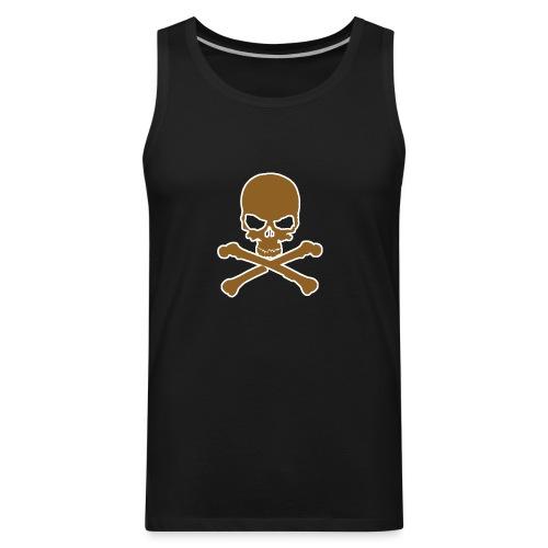 Bone design front - Men's Premium Tank