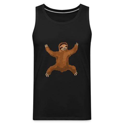 Sloth Love Hug - Men's Premium Tank