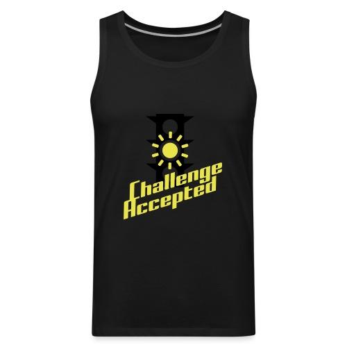 Challenge Accepted - Men's Premium Tank