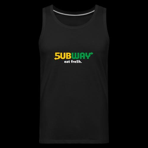 5ubway Print - Men's Premium Tank