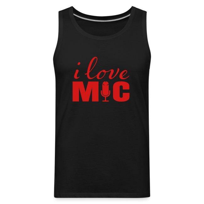 I love Mic T-Shirt