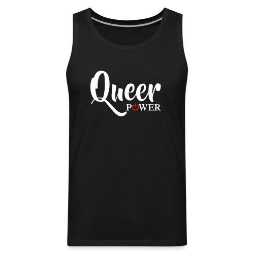 Queer Power T-Shirt 04 - Men's Premium Tank
