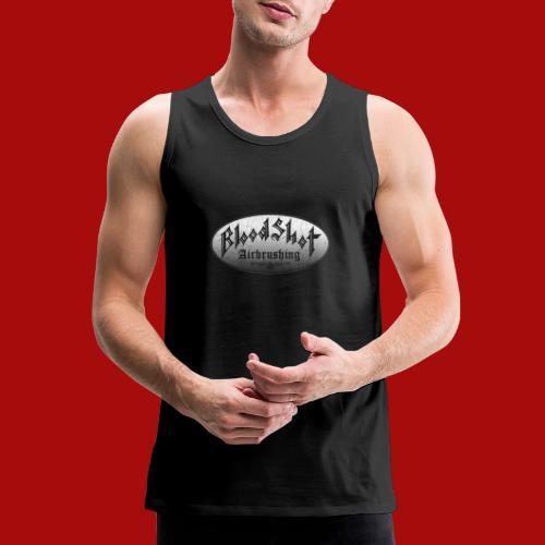 BloodShot Airbrushing Logo - Men's Premium Tank